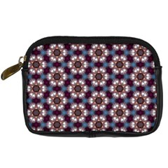 Cute Pretty Elegant Pattern Digital Camera Leather Case