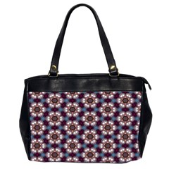 Cute Pretty Elegant Pattern Oversize Office Handbag (two Sides)