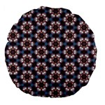Cute Pretty Elegant Pattern 18  Premium Flano Round Cushion  Back