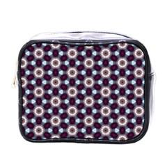 Cute Pretty Elegant Pattern Mini Travel Toiletry Bag (one Side)