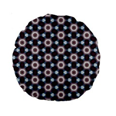Cute Pretty Elegant Pattern 15  Premium Round Cushion