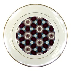 Cute Pretty Elegant Pattern Porcelain Display Plate