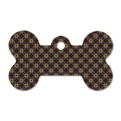 Cute Pretty Elegant Pattern Dog Tag Bone (one Sided)