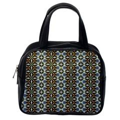 Cute Pretty Elegant Pattern Classic Handbag (one Side)