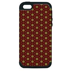 Cute Pretty Elegant Pattern Apple Iphone 5 Hardshell Case (pc+silicone)