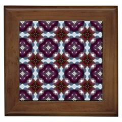 Cute Pretty Elegant Pattern Framed Ceramic Tile