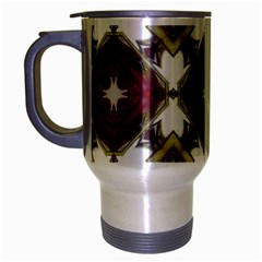 Cute Pretty Elegant Pattern Travel Mug (silver Gray)
