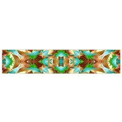 Colorful Modern Pattern Collage Flano Scarf (small)