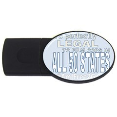 Picture3 2gb Usb Flash Drive (oval)