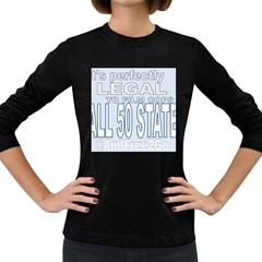 Picture3 Women s Long Sleeve T Shirt (dark Colored)