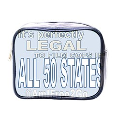 Picture3 Mini Travel Toiletry Bag (one Side)