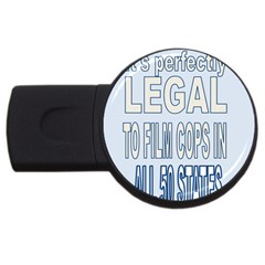 Picture7 4gb Usb Flash Drive (round)