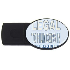 Picture7 4gb Usb Flash Drive (oval)