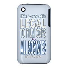 Icanfilmthis Apple iPhone 3G/3GS Hardshell Case (PC+Silicone)
