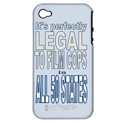 Icanfilmthis Apple Iphone 4/4s Hardshell Case (pc+silicone)