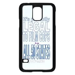 Icanfilmthis Samsung Galaxy S5 Case (Black)