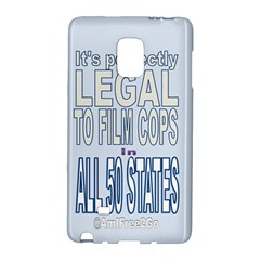 Icanfilmthis Samsung Galaxy Note Edge Hardshell Case
