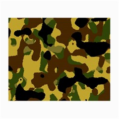 Camo Pattern  Glasses Cloth (small, Two Sided)