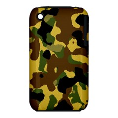 Camo Pattern  Apple Iphone 3g/3gs Hardshell Case (pc+silicone)