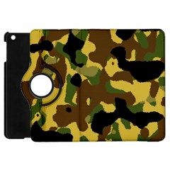 Camo Pattern  Apple Ipad Mini Flip 360 Case