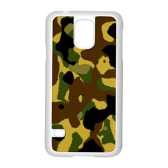 Camo Pattern  Samsung Galaxy S5 Case (White)