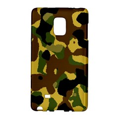 Camo Pattern  Samsung Galaxy Note Edge Hardshell Case