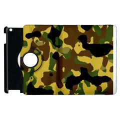 Camo Pattern  Apple iPad 2 Flip 360 Case