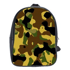 Camo Pattern  School Bag (xl)