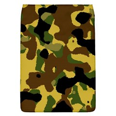 Camo Pattern  Removable Flap Cover (large)
