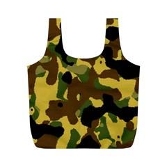 Camo Pattern  Reusable Bag (M)