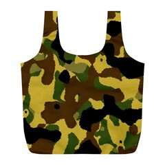 Camo Pattern  Reusable Bag (L)