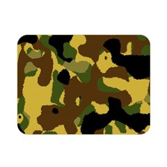 Camo Pattern  Double Sided Flano Blanket (Mini)