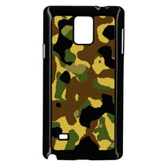 Camo Pattern  Samsung Galaxy Note 4 Case (Black)