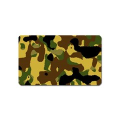 Camo Pattern  Magnet (name Card)