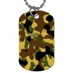 Camo Pattern  Dog Tag (one Sided)