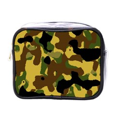 Camo Pattern  Mini Travel Toiletry Bag (one Side)