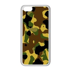 Camo Pattern  Apple Iphone 5c Seamless Case (white)
