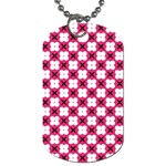 Cute Pretty Elegant Pattern Dog Tag (Two-sided)  Back