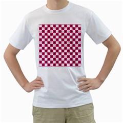 Cute Pretty Elegant Pattern Men s T-Shirt (White)