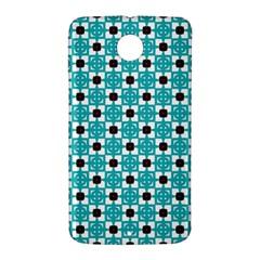 Cute Pretty Elegant Pattern Google Nexus 6 Case (White)