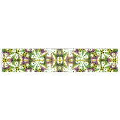 Neo Noveau Style Floral Print Flano Scarf (small)