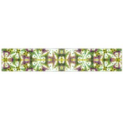 Neo Noveau Style Floral Print Flano Scarf (Large)