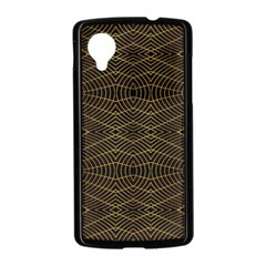 Futuristic Geometric Design Google Nexus 5 Case (Black)