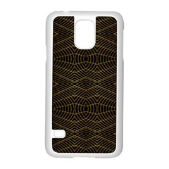 Futuristic Geometric Design Samsung Galaxy S5 Case (White)