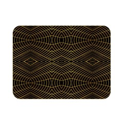 Futuristic Geometric Design Double Sided Flano Blanket (mini)