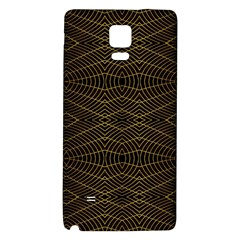 Futuristic Geometric Design Samsung Note 4 Hardshell Back Case