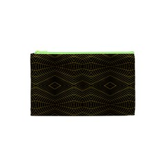Futuristic Geometric Design Cosmetic Bag (XS)