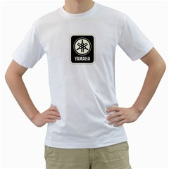 Yamaha Audio Men s T-Shirt (White)
