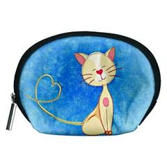 cute cat Accessory Pouch (Medium)