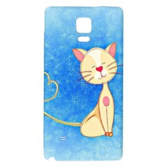 cute cat Samsung Note 4 Hardshell Back Case